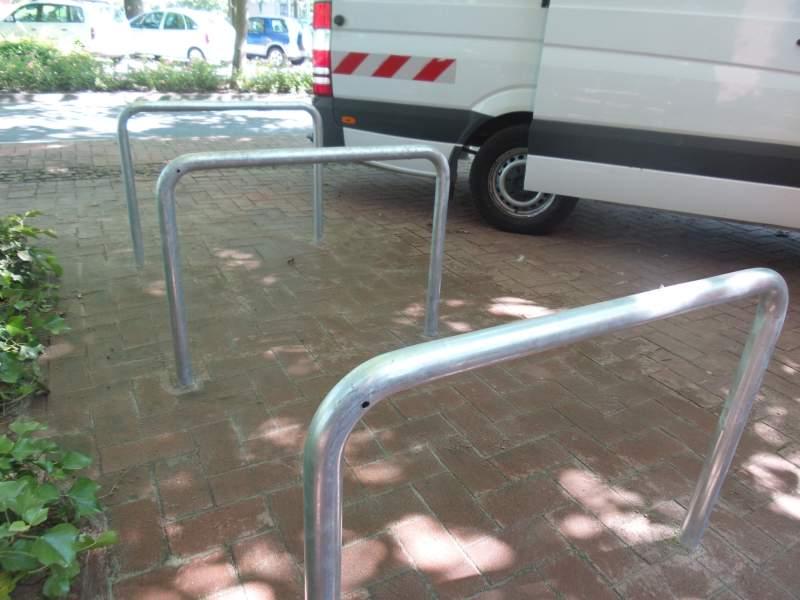 40 neue Fahrradbügel für Langenhagen!