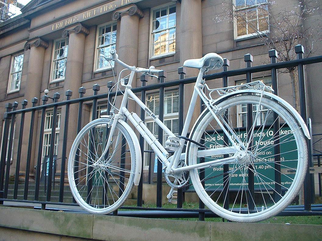 Ghost Bike Aktion