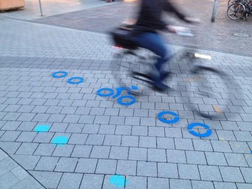 City-Radring neu markiert